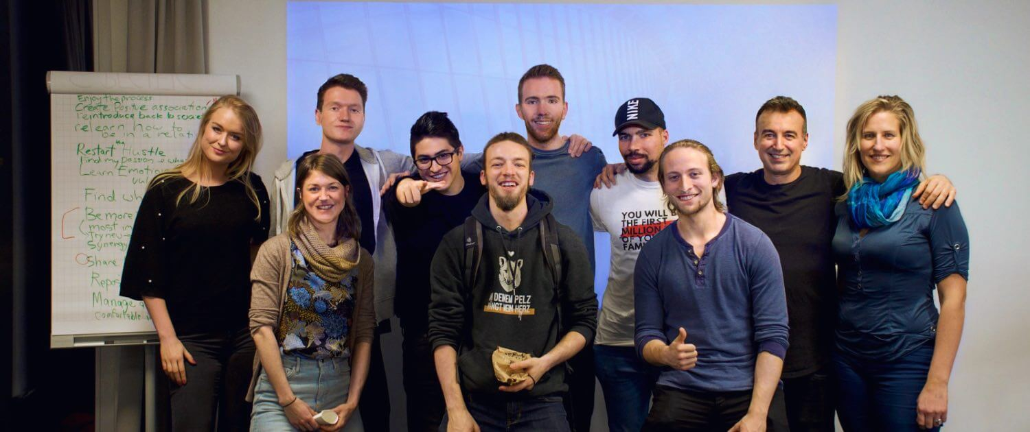 elevanation life coaching workshop in berlin with Christian Pyrros