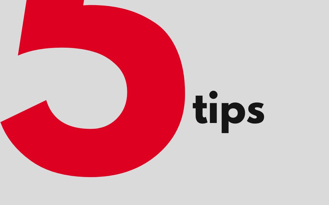 Top 5 tips for Better Communication